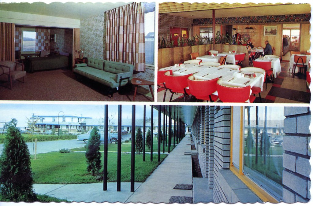 bruce macdonald motor lodge and restaurant ottawa canada edge and corner wear tags - Linoleum Restaurant Interior