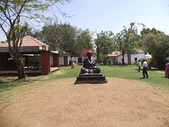 Gandhi Ashram, Ahmedabad, Gujarat, India (Harshit Trivedi's Photography) Tags: history statue freedom experiments movement truth peace gandhi struggle gujarat ahmedabad ashram mahatma nonviolence dandi gandhiji sabarmati satyagraha