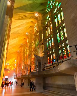 Sagrada Familia Afternoon