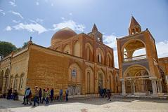 Courtyard of the Cathedral (T   J ) Tags: nikon iran d750 yazd teeje nikon2470mmf28