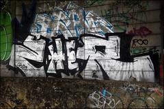 Zher (Alex Ellison) Tags: urban graffiti boobs chrome graff eastlondon zher