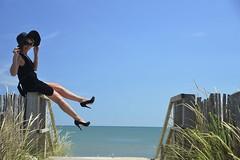 Carole (25) (Michel Seguret Thanks for 12,9 M views !!!) Tags: sea portrait mer france beach beauty strand see mar donna mujer model nikon mare modeling sete femme playa porträt blond beauté blonde pro shooting carole frau plage ritratto languedoc modele d800 herault littoral mediterranée michelseguret