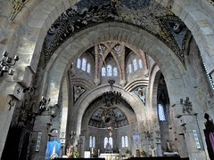 PANJN (Panxn), Nigrn, Pontevedra, Galicia. Templo Votivo del Mar. (Josercid) Tags: galicia pontevedra antoniopalacios panxn nigrn panjn templovotivodelmar interiortemplovotivodelmar