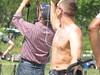 IMG_0395 (FOTOSinDC) Tags: shirtless man tattoo ink candid handsome biker