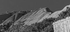 Clay slopes, Xatt l-Ahmar, Gozo (kurjuz) Tags: blackandwhite malta clay gozo slopes xattlahmar