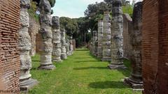 La via delle colonne (johnfranky_t) Tags: porto di mura colonne pini traiano johnfranky mattoncoini