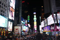 Let's cram a bunch of tourists into even a smaller area of Times Square (Hazboy) Tags: new york city nyc usa ny apple rock america square us big manhattan may center midtown times rockefeller 2016 hazboy hazboy1