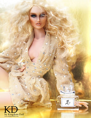 Gold by KD (kingdomdoll) Tags: beauty fashion gold glamour style blond blonde resin fashiondoll trinovantes nimue resinfashiondoll fbjd kingdomdoll