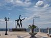 Nuvole & Marinai (NIKOZAR (Nicola Zaratta)) Tags: italy statue nuvole mare f18 puglia taranto marinai em10markii olympusm25mm