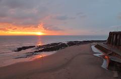Broadstairs Sunrise 6 20100106 (Steve TB) Tags: sea sunrise canon coast sand broadstairs eos5dmarkii