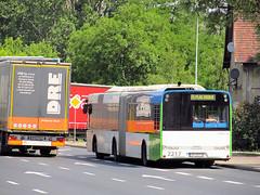 Solaris Urbino 18 III, #2217, SPAD (transport131) Tags: bus autobus zditm szczecin solaris urbino spad