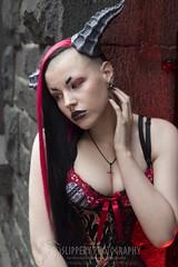 Female Wyvern (4) (Dezmin) Tags: rock drag photography model punk king alt alice horns cooper loki demon devil corset spine tentacle mx slippery alternative eloquent genderfuck