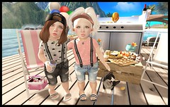 BBQ Buds (delisadventures) Tags: pink summer dog cute chicken beach beer sunshine fun grey spring dock corgi toddler memorial day sandals caps gray shrimp bbq grill sl drinks secondlife barbecue tiny collab overalls second cece summertime shorts suspenders foreign adidas aloha collaboration loyal trinkets td overall skewers besties toddle slblog slfashion slbabe secondlifefashion slkids slevents secondlifeblog slaccessories slfamily seconlifefashion slfashionblogger slfashions slbaby slfashionblog slblogger secondlifefashionblog toddleedoo toddleedoos slfashin slbog bowillow slfashino slblogg toddleddoo