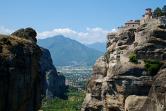 Metora, Greece (GLTRV) Tags: travel landscape fuji greece meteora xe1