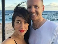 beach selfie (irene_joy) Tags: beach mexico cabo eric irene selfie