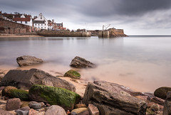 Crail Harbour (Photo Lab by Ross Farnham) Tags: crail harbour nikon d800 1635mm long exposure le big stopper rocks water scotland fife
