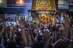 Kolkata 2016 (Anirban_Mal) Tags: street people color canon worship prayer mass devotee kolkata jagannath 6d isckon rathyatra