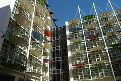 Colourful Balcony (Flossyuk) Tags: balcony colourfull building architecture birmingham city