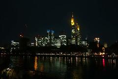 Skyline Frankfurt (urban_kalbermatter) Tags: city skyline night river lights frankfurt main fluss lichter