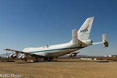 N911NA NASA Shuttle Carrier Aircraft (SCA) B747-100 (KSBD Photo) Tags: plant heritage sca aircraft nasa shuttle boeing 42 carrier airpark b747100 n911na boeingfan
