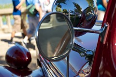 1938 Packard 120 (c. mcgraw OFF and ON) Tags: auto lake cars 120 festival mirror florida lakeland packard