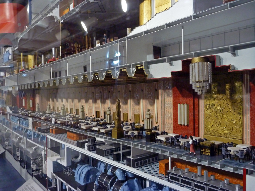 Ss Normandie Cutaway Pictures To Pin On Pinterest Thepinsta