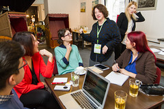 Me at Discover e-volunteering even in Warsaw, Poland 2014 (jcravens) Tags: working presenting talking training lecturing trainer learning community engagement volunteers volunteering volunteerism recruitment workshop jaynecravens volunteermanagement europe travel adventure coyotebroad abroad international traveler woman consultant management communications coyotecommunications