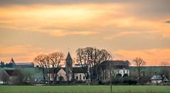 village ... (jcim) Tags: composition la crescent chateau loire hdr chemin voie charit beuvron sulpice vzelay orang aigrette varzy bouhy mouron settons