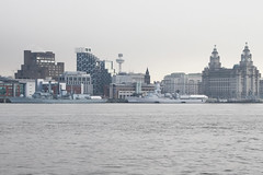 HMS Portland & HNLMS Van Amstel (NTG's pictures) Tags: cruise building netherlands liverpool river portland marine waterfront navy royal terminal van liver mersey amstel hms koninklijke warships frigates hnlms f79 f831