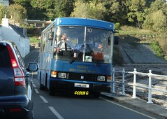 Tantivy 10 (B) (Coco the Jerzee Busman) Tags: uk bus ford islands coach pointer transit cannon jersey swift channel leyland stringer wadham lcb plaxton tantivy