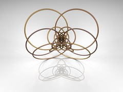 inversion of Hyperboloid (fdecomite) Tags: circle geometry sphere math inversion povray