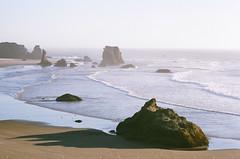 26 (α RAINYNEPTUNUS ω) Tags: ocean autumn film oregon analog coast pacific superia pacificocean shore pacificnorthwest fujifilm bandon cannonbeach analogphotography filmphotography