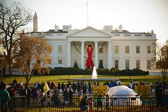 Commemorative Red Ribbon White House 2014 World AIDS Day 50181