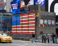 United States Armed Forces Recruiting Station, Times Square, New York City (jag9889) Tags: nyc newyorkcity usa ny newyork station unitedstates manhattan taxi unitedstatesofamerica broadway yellowcab americanflag transportation timessquare 2014 theaterdistrict usarmedforces jag9889 20141130