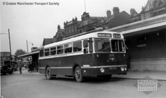 Wigan Corporation 101 (GMTS Collection) Tags: bus buses transport lancashire corporation 101 marketplace preserved busstation leyland wigan royaltiger aek514
