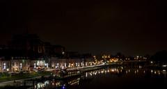 Auxerre - nuit - 4 decembre 2014 --5 (bebopeloula) Tags: france automne europe rivire bateau bourgogne nuit quai 89 2014 auxerre rflection yonne nikond700