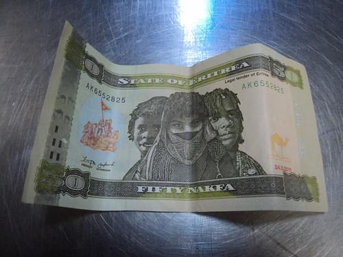 Eritrean Banknotes