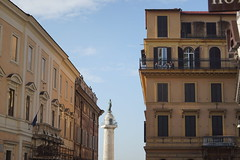 DSC05755 (10_Days_in_Rome) Tags: street old city travel bridge november windows light shadow red vacation urban italy orange cloud white rome roma tower window yellow clouds photography haze italia cityscape shadows walk sony horizon streetphotography e tiber tevere hazy top20 oldtown lazio csc pontesisto sisto tibre latium a7r sel70200g ilce7r fe70200mmf4goss