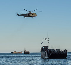 Ex Sea Snake, Royal Marines landing in Gibraltar (David Parody) Tags: david m parody 2014