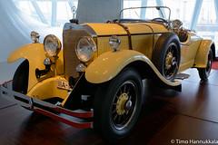 24/100/140hp Mercedes-Benz roadster (timohannukkala) Tags: car museum germany de nikon stuttgart sigma mercedesbenz roadster badenwurttemberg d7100