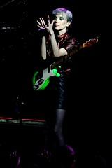 ST VINCENT 68  stefano masselli (stefano masselli) Tags: italy music girl st rock anne concert guitar erin live milano vincent band clark annie dna alcatraz stefano masselli