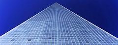 Freedom (Kathrin Schild) Tags: newyorkcity blue newyork skyscraper freedom unitedstatesofamerica lowermanhattan newwtc canon6d oneworldtradecenter kathrinschild