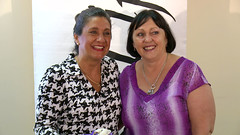 Anglicans for Life in Brisbane! So fun meeting this joyous lady, Teresa Martin of Cherish Life, Queensland