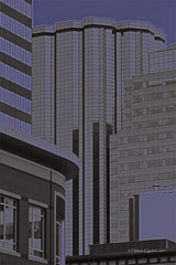 Study - City Architecture, Lines and Relief / tude  Architecture de la ville, Lignes et Relief (helenegiguere) Tags: canada lines architecture buildings cityscape edmonton ab relief alberta lignes btiments downtownedmonton paysageurbain helenegiguere wwwhelenegiguerecom centrevillededmonton