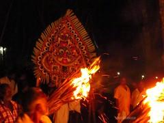 Padayani (SANAND K) Tags: art temple form rituals devi bhairavi thelliyoor padyani