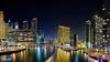 Dubai Marina (Max Loxton) Tags: beauty architecture night buildings dubai united emirates arab bluehour nightscapes dxb yasirnisar maxloxton yasirnisarphotography