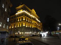 Wien, 1. Bezirk, Schwarzenbergplatz/Kärntnerring/Canovagasse (the art of palais of Vienna), Hotel Imperial (former Palais Württemberg)