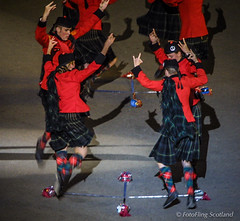 Highland Dancer (FotoFling Scotland) Tags: kilt dancing scottish sworddance meninkilts edinburghmilitarytattoo highlanddancers