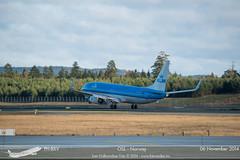 KLM - PH-BXV - B737-800 (Aviation & Maritime) Tags: norway boeing klm osl gardermoen b737 boeing737800 boeing737 engm b737800 oslolufthavngardermoen royaldutchairlines osloairport koninklijkeluchtvaartmaatschappij phbxv osloairportgardermoen