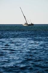 Local fishing boat.